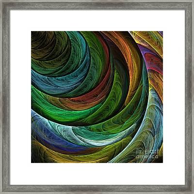 Color Glory Framed Print
