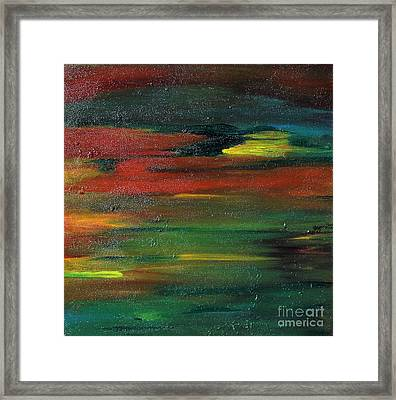 Color II Framed Print