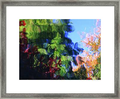 Color In Motion Framed Print