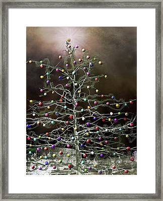 Color In The City Framed Print