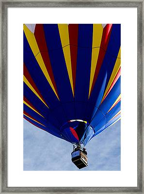 Color In The Sky Framed Print by Teri Virbickis