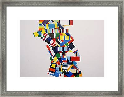Color Linked To Personality Framed Print