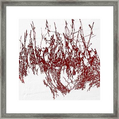 Framed Print featuring the digital art Color Me Dexter by Ken Walker