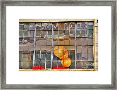 Color Me Golden Framed Print