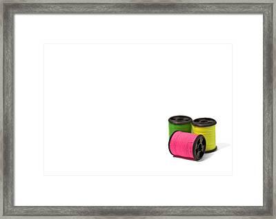 Color Me Happy Framed Print by Evelina Kremsdorf
