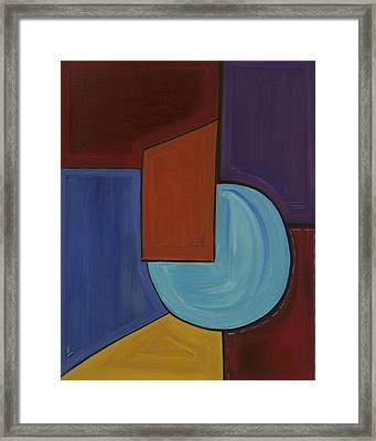Color Me Happy Framed Print by Sandy Bostelman