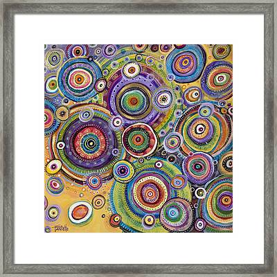 Color Me Happy Framed Print by Tanielle Childers