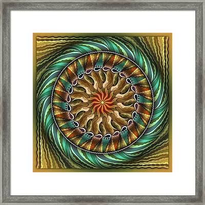 The Light At The End Of The Tunnel Framed Print