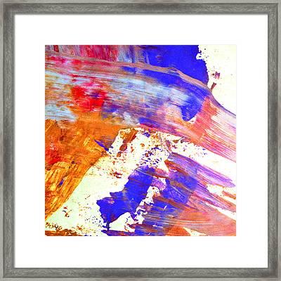 Color Me This Framed Print by Susan Leggett