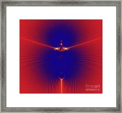 Color Meets Energy Framed Print