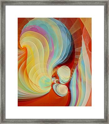 Color My Dreams Framed Print by Gayle Odsather