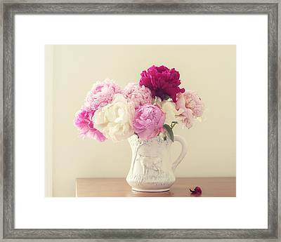 Framed Print featuring the photograph Color My World by Amy Tyler