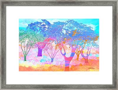 Color My World Framed Print