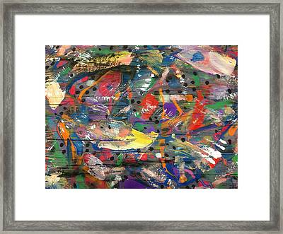 Color N Grain Framed Print