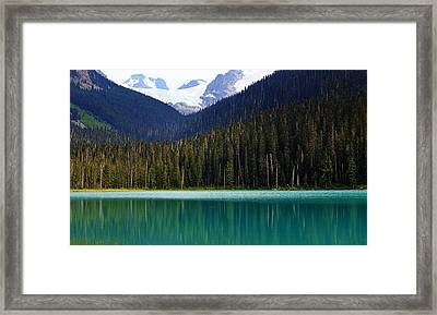 Lower Joffre Lake Framed Print