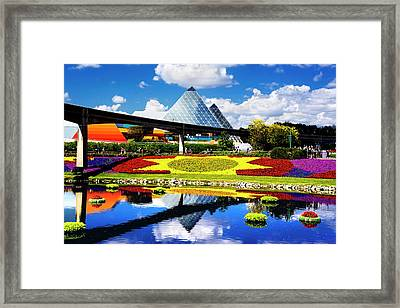 Framed Print featuring the photograph Color Of Imagination by Greg Fortier