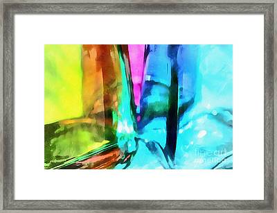 Color Of Imagination Framed Print