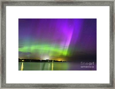 Color Of The Night Framed Print