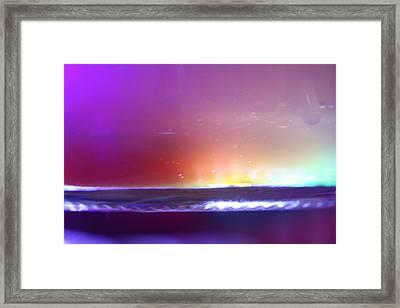Color On Framed Print