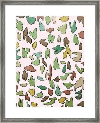 Color Pattern 3d Framed Print