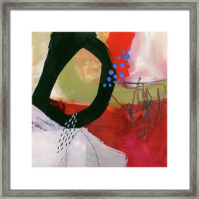 Color, Pattern, Line #1 Framed Print