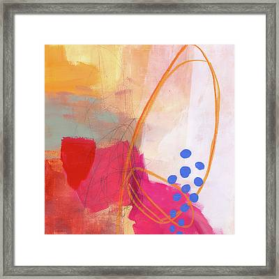 Color, Pattern, Line #2 Framed Print by Jane Davies