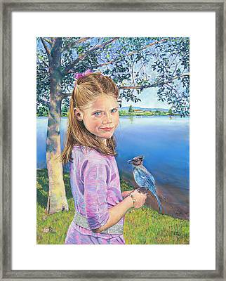Color Personified - Blue Framed Print