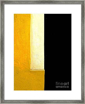 Color Planes 11 By Darian Day Framed Print