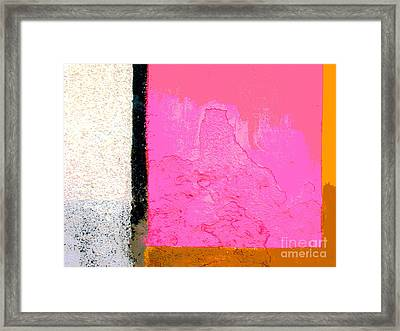 Color Planes 14 By Darian Day Framed Print
