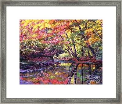 Color Poetry Framed Print by David Lloyd Glover