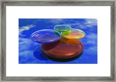 Color Reflections Framed Print