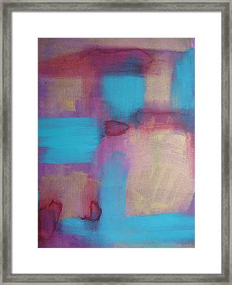 Color Ribbon Framed Print by Lindie Racz