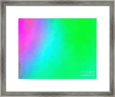 Color Rush Framed Print by Krissy Katsimbras