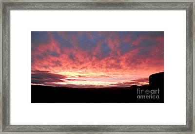 Color Rush Framed Print