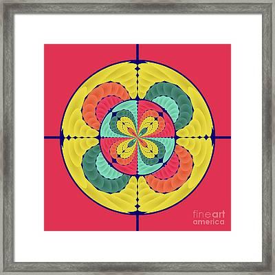 Color Scope Framed Print