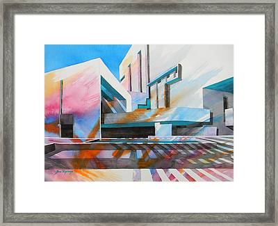 Framed Print featuring the painting Color Simphony by J- J- Espinoza