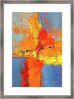 Color Splash 2 Framed Print
