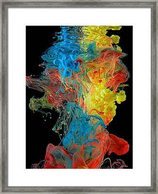 Colour Splash Framed Print by Henry Jager