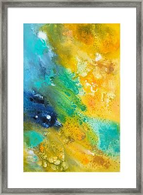 Color-splash Framed Print