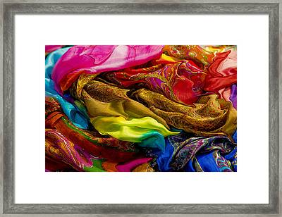 Color Storm Framed Print by Paul Wear