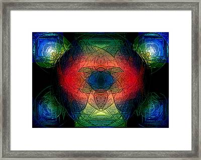 Color Study Framed Print by Patrick Guidato
