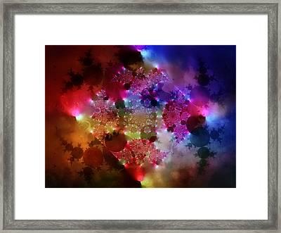 Color Sunrise Framed Print