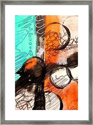 Color Swatch 1 Framed Print by Nancy Merkle