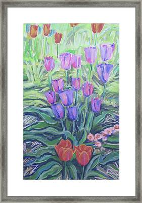 Color Therapy Framed Print by Grace Keown