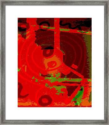 Color Trap Framed Print by Mildred Ann Utroska        Mauk
