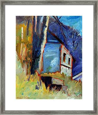 Color Vibrations At Minus 9 Centigrade Framed Print by Charlie Spear