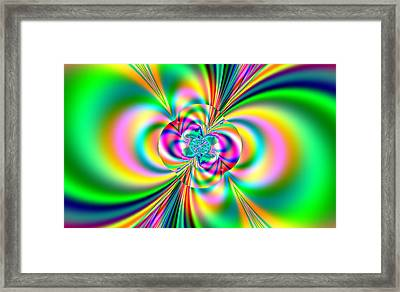 Color Wash Framed Print by Thomas Smith