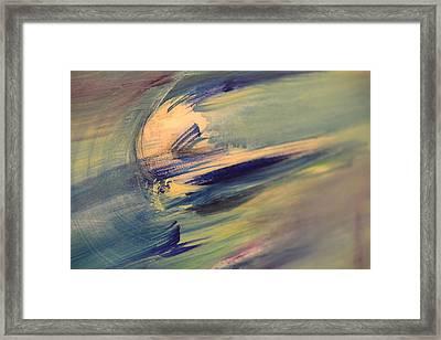 Color Washing Framed Print