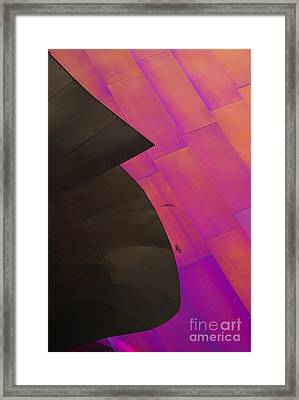 Color Waves Framed Print by Mike Dawson