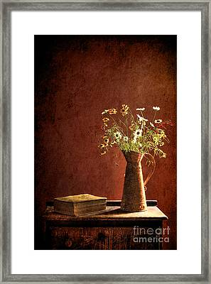 Color Wild Garden Framed Print by Sari Sauls